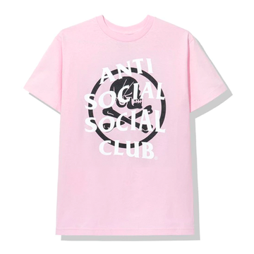 Anti Social Social Club x Neighborhood Cambered Pink Tee Tee Pink