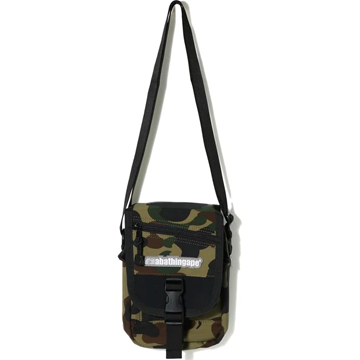BAPE 1st Camo Shoulder Bag Green, Bape, Kenshi Toronto
