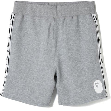 BAPE Taped Seam Sweat Shorts Grey, Bape, Kenshi Toronto