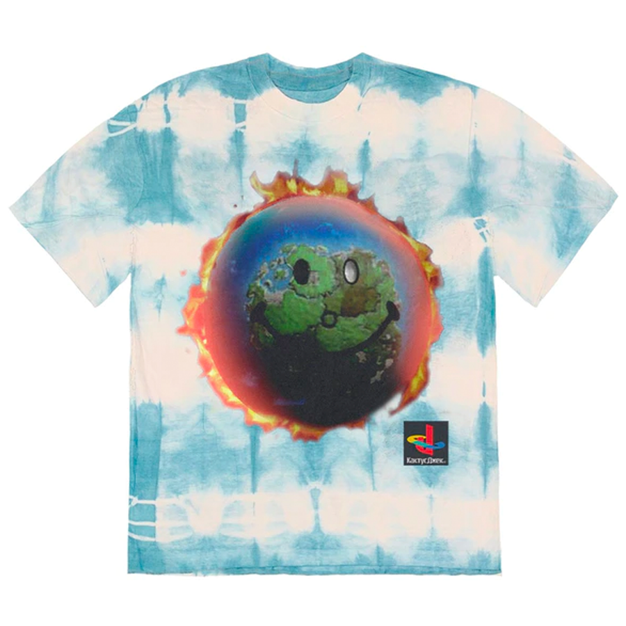 Travis Scott The Scotts World T-Shirt Tie Dye