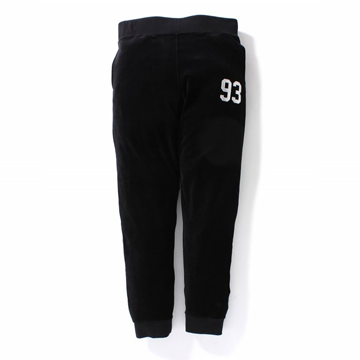Velour Jersey Slim Pants