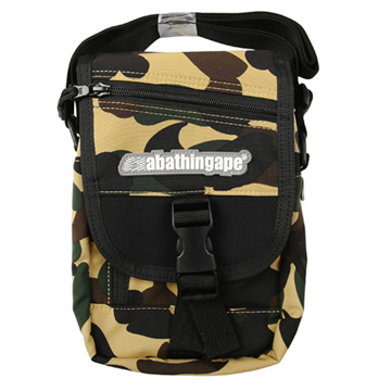 1st Camo Shoulder Bag Yellow, Bape, Kenshi Toronto