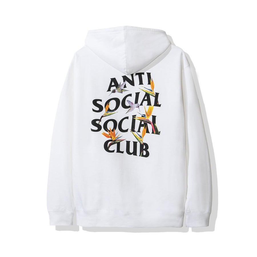 Anti Social Social Club Pair Of Dice Hoodie White