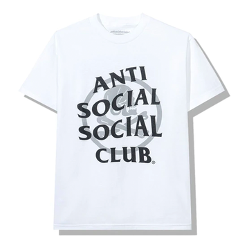 Anti Social Social Club x Neighborhood Cambered White Tee Tee White