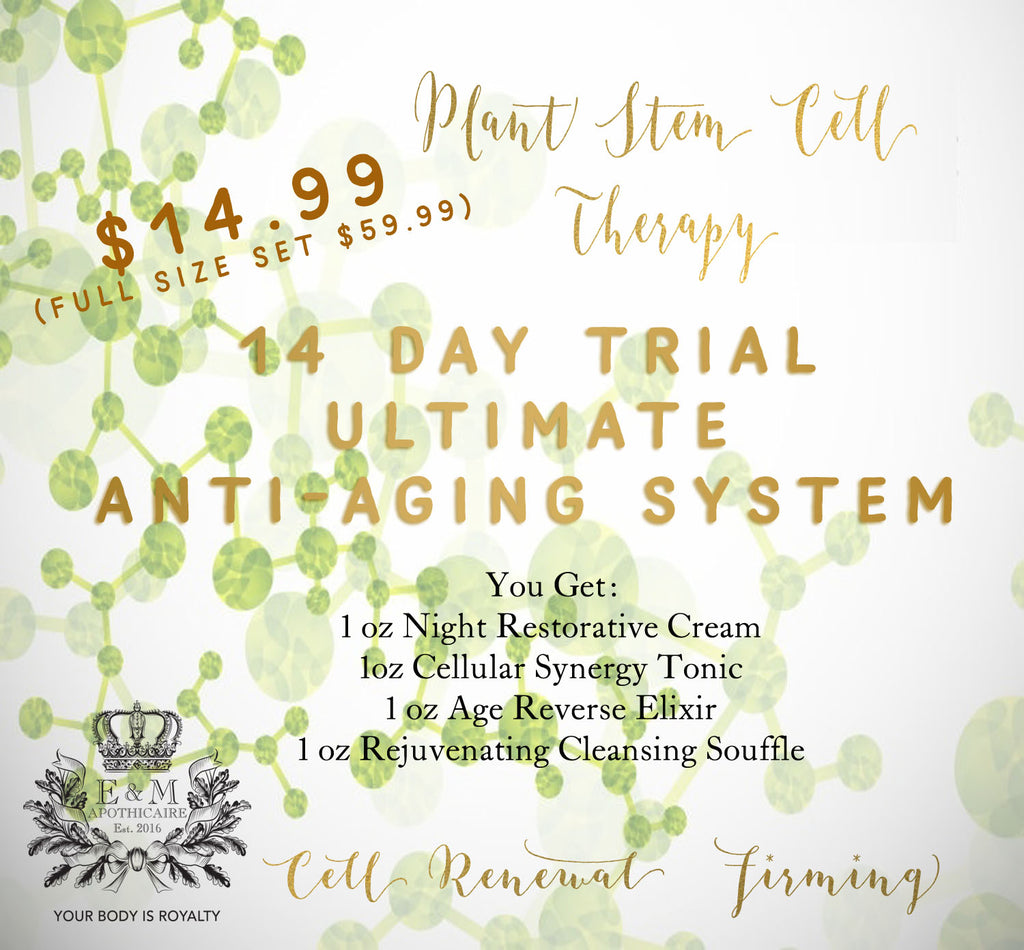 14 Day Trial Plant Stem Cell Therapy Anti-aging Set