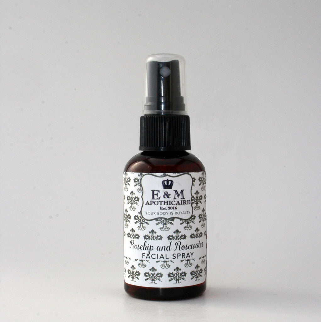 Rosehip Seed oil and Rosewater facial spray