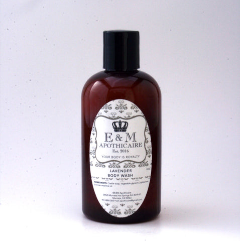 Gentle Lavender Body Wash