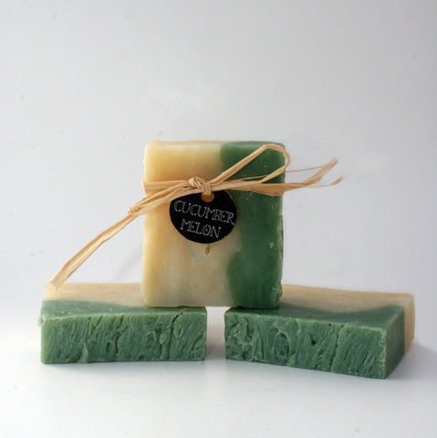 Cucumber Melon Soap with Aloe (Vegan)