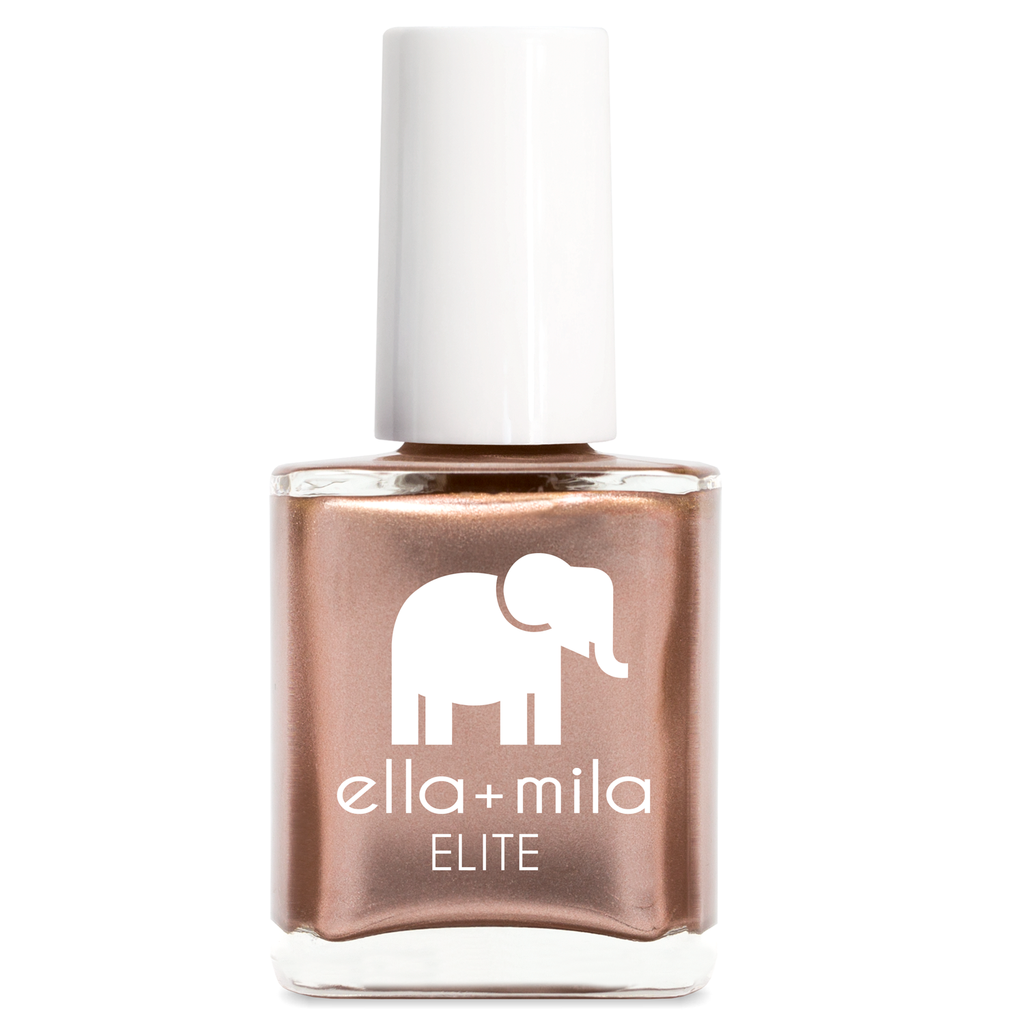 "Vegan ""7 Free"" Nail Polish by Ella+Mila ""Champagne Pop"""
