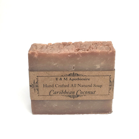 Caribbean Coconut  Bar Soap (Vegan)