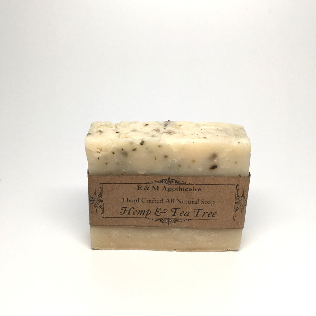 Hemp & Tea Tree Hair, Body and Beard Bar (Vegan)