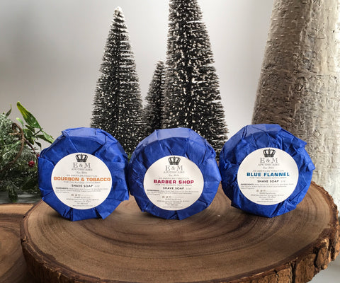 All Natural Wet Shave Soap Puck