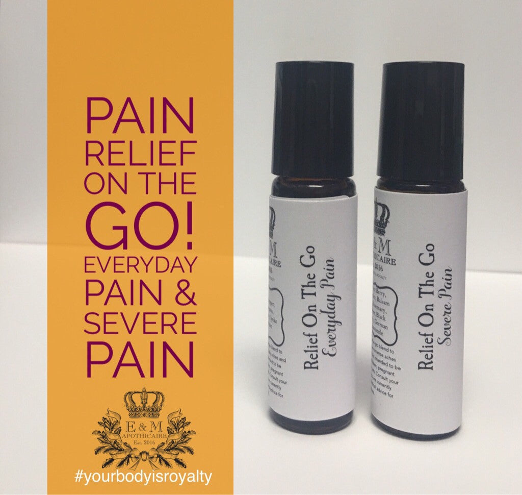 Essential Oils On-the-go for General Relief and More