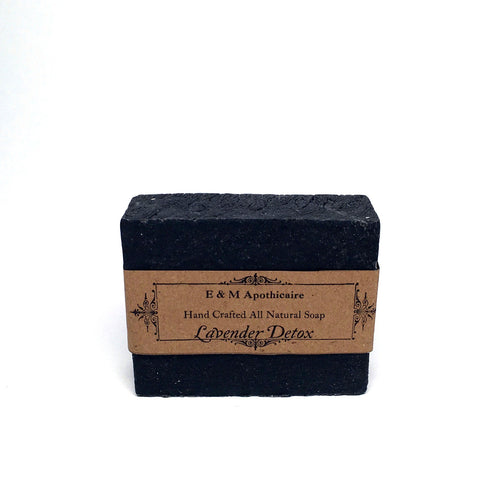 Purifying Bamboo Charcoal Face and Body Bar