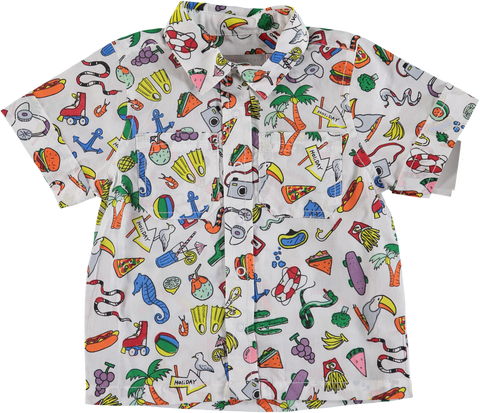 Stella Mccartney SS19- Toys & Food Short Sleeves Shirt
