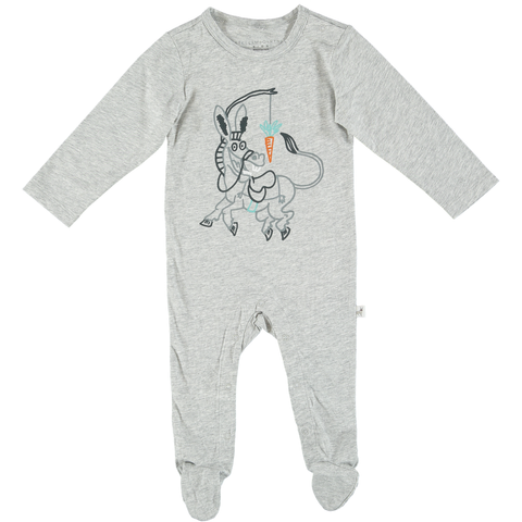 STELLA MCCARTNEY SS18- TWIDDLE BABYGROW WITH DONKEY PRINT