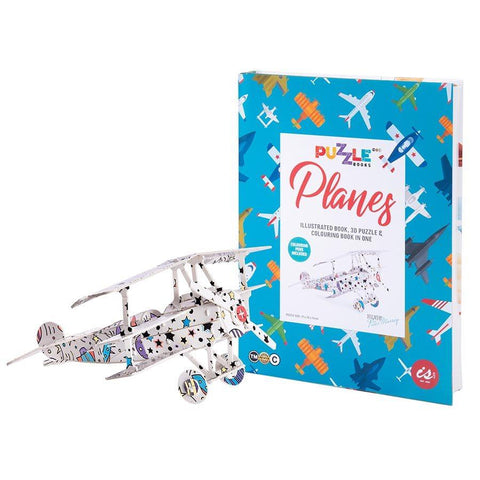 IS GIFT - Puzzle Book - Planes