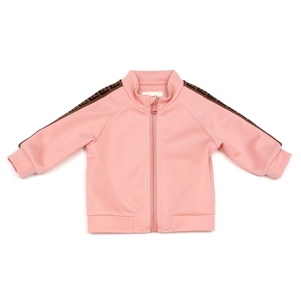 Fendi SS20- Pink FF Tape Baby Sweater