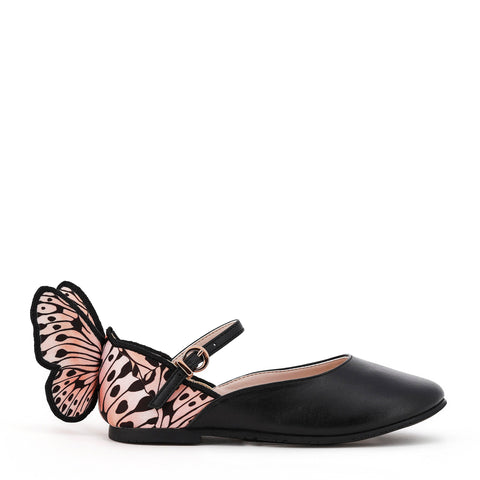 Sophia Webster Mini SS20- Chiara Junior Embroidery in Black & Nude