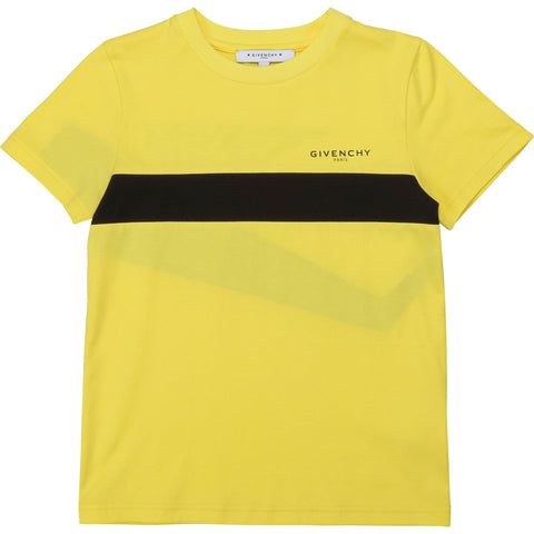 Givenchy Straw Yellow Short Sleeves Tee-Shirt