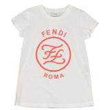 Fendi SS20- White Logo T-Shirt
