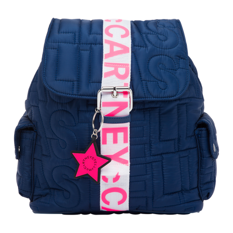 Stella McCartney SS21 - Quilted Icon Small Backpack