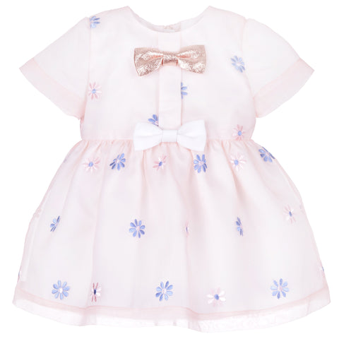 Hucklebones London SS20- Mini Bow Bodice Dress & Bloomers