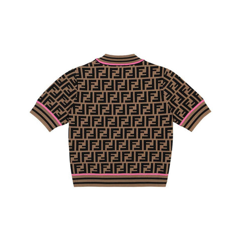 Fendi SS21 - FF Knitted Top