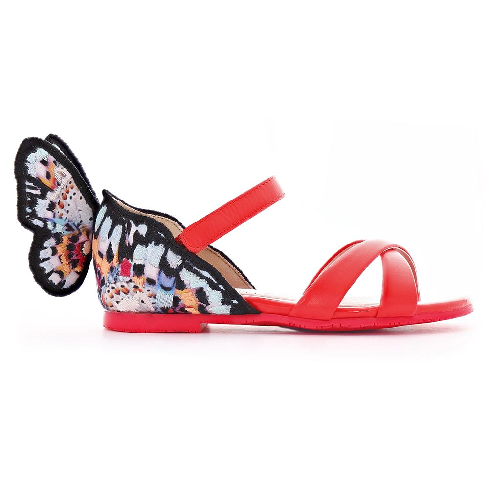 Sophia Webster AW19- Chiara Embroidery Flat Sandal Infant