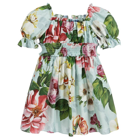 Dolce & Gabbana SS20- Blooming Flower Print Dress