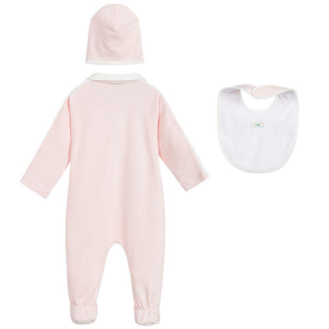 Fendi AW20 - Pink Cotton Babygrow Gift Set