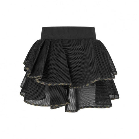 Fendi AW20 - Honeycomb Mesh Neoprene Skirt