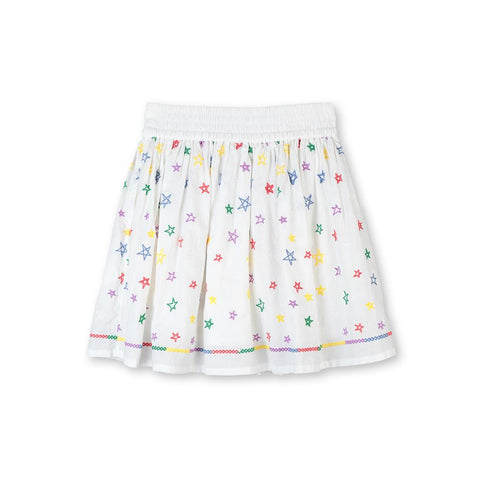 Stella McCartney SS20- Stars Cotton Skirt
