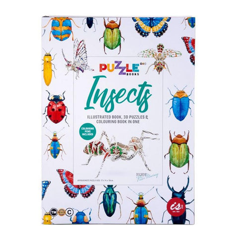 IS GIFT - Puzzle Book - Insects