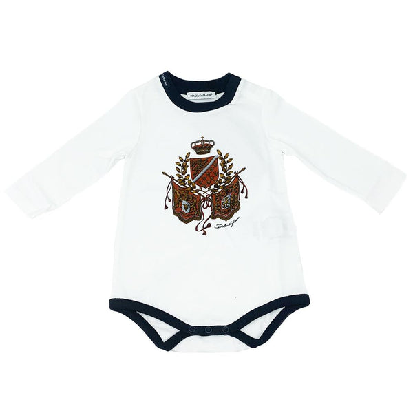 Dolce & Gabbana AW19- Long Sleeves White Body