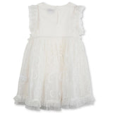 Stella McCartney SS20- Organza Dress W/ Flowers Applique