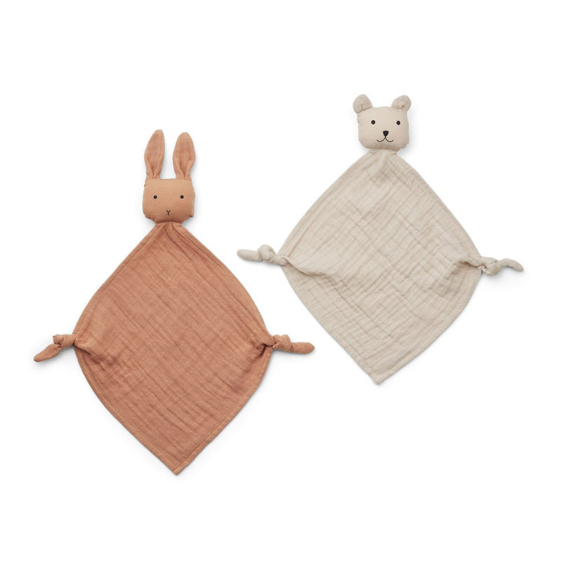 Liewood - Yoko Mini Cuddle Tuscany Rose/Sandy cloth 2-pack