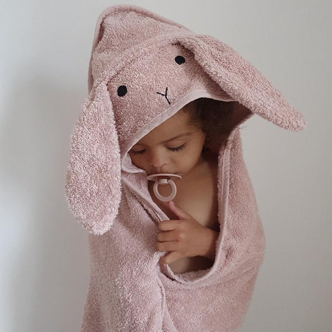 Liewood - Rabbit Rose Albert Hooded Towel