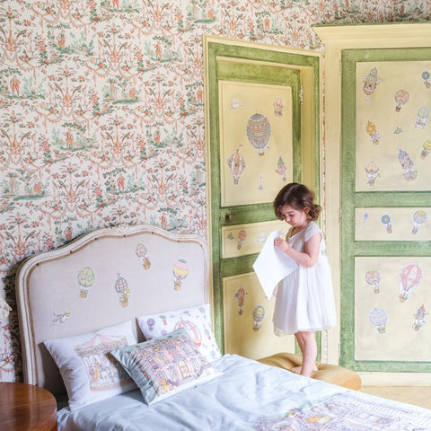Atelier Choux - Replaceable Wall Stickers