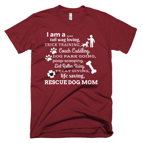 I Am A Rescue Dog Mom - I Heart Rescue Dogs - 1