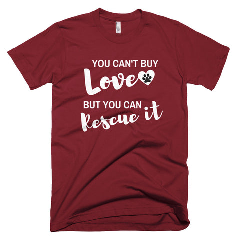 Can't Buy Love, Rescue It - I Heart Rescue Dogs - 1