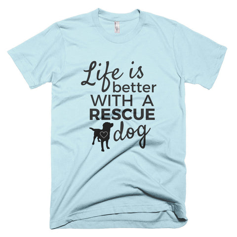 Better With A Rescue Dog - I Heart Rescue Dogs - 1