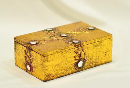 Handcrafted Wood Jewelry Box / Keepsake Box - Bali Thai Imports