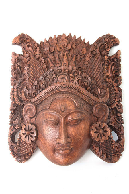 Handmade Suar Wood Mask VI