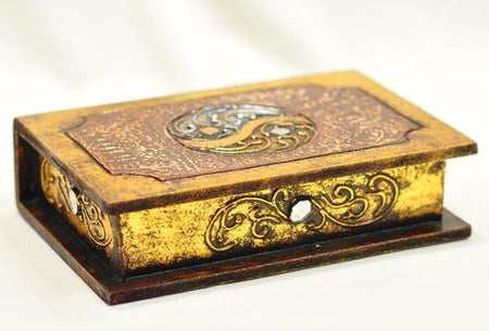 Handcrafted Wood Jewelry Box / Decorative Box / Treasure Chest - Bali Thai Imports