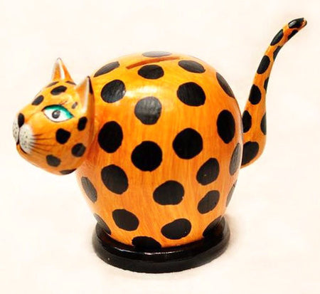 Cat Piggy Bank - Bali Thai Imports