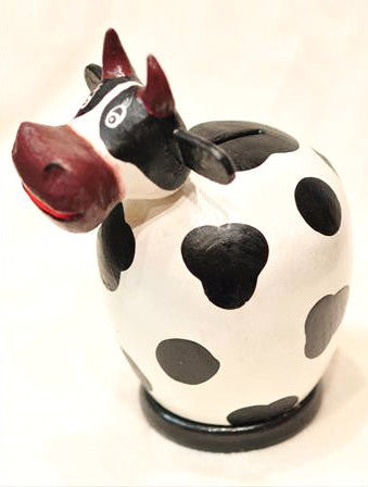 Cow Piggy Bank - Bali Thai Imports