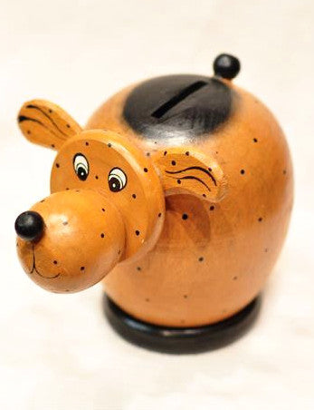 Doggy Piggy Bank - Bali Thai Imports