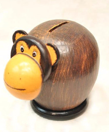 Monkey Piggy Bank - Bali Thai Imports