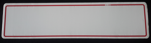 Rider 6x24 Red Border